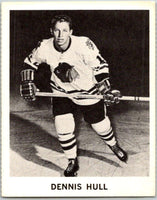 1965-66 Coca-Cola #27 Dennis Hull  Chicago Blackhawks  X0039