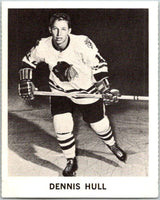 1965-66 Coca-Cola #27 Dennis Hull  Chicago Blackhawks  X0040