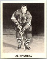 1965-66 Coca-Cola #33 Al MacNeil UER  Chicago Blackhawks  X0051