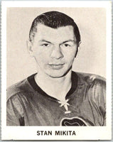 1965-66 Coca-Cola #35 Stan Mikita  Chicago Blackhawks  X0054