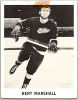 1965-66 Coca-Cola #39 Bert Marshall  Detroit Red Wings  X0061