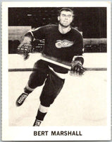 1965-66 Coca-Cola #39 Bert Marshall  Detroit Red Wings  X0062