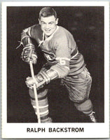 1965-66 Coca-Cola #59 Ralph Backstrom  Montreal Canadiens  X0099