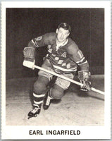 1965-66 Coca-Cola #81 Earl Ingarfield  New York Rangers  X0137