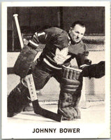 1965-66 Coca-Cola #91 Johnny Bower  Toronto Maple Leafs  X0155