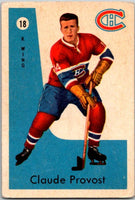 1959-60 Parkhurst #18 Claude Provost Montreal Canadiens V33520