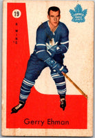 1959-60 Parkhurst #19 Gerry Ehman RC Rookie Toronto Maple Leafs V35521