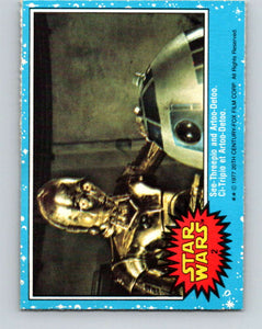 1977 OPC Star Wars #2 See-Threepio and Artoo-Detoo   V33529