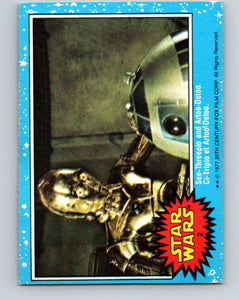 1977 OPC Star Wars #2 See-Threepio and Artoo-Detoo   V33530