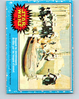 1977 OPC Star Wars #29 Stopped by stormtroopers   V33679