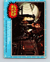1977 OPC Star Wars #30 Han in the Millennium Falcon   V33690
