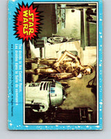 1977 OPC Star Wars #33 The droids in the Control Room   V33704