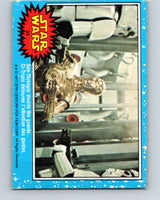 1977 OPC Star Wars #34 See-Threepio diverts the guards   V33713
