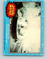 1977 OPC Star Wars #36 Blast of the laser rifle!   V33726