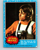 1977 OPC Star Wars #63 May the Force be with you!   V33880