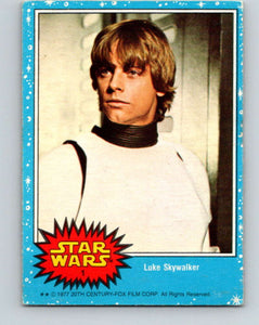 1977 Topps Star Wars #1 Luke Skywalker   V34601