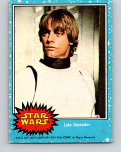 1977 Topps Star Wars #1 Luke Skywalker   V34602