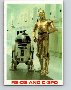 1977 Star Wars Burger King R2-D2 and C-3PO  V34733