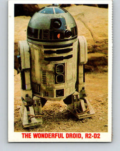1977 Star Wars Burger King The Wonderful Droid, R2-D2  V34734