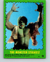 1979 Marvel Incredibale Hulk #15 The Monster Strikes  V34826