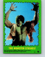 1979 Marvel Incredibale Hulk #15 The Monster Strikes  V34827