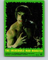 1979 Marvel Incredibale Hulk #17 The Incredible Man Monster  V34836