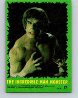 1979 Marvel Incredibale Hulk #17 The Incredible Man Monster  V34837