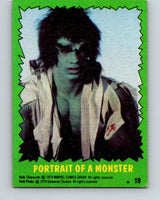 1979 Marvel Incredibale Hulk #19 Portrait of a Monster  V34845
