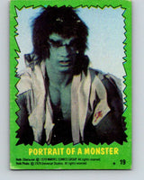 1979 Marvel Incredibale Hulk #19 Portrait of a Monster  V34846