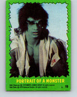 1979 Marvel Incredibale Hulk #19 Portrait of a Monster  V34850