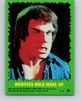 1979 Marvel Incredibale Hulk #31 Modified Hulk Make-up  V34898
