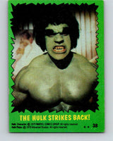 1979 Marvel Incredibale Hulk #38 The Hulk Strikes Back  V34929