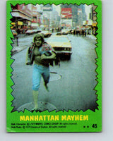 1979 Marvel Incredibale Hulk #45 Manhattan Mayhem  V34956