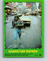 1979 Marvel Incredibale Hulk #45 Manhattan Mayhem  V34957