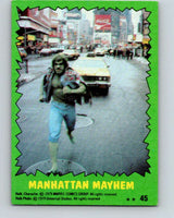1979 Marvel Incredibale Hulk #45 Manhattan Mayhem  V34958