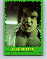 1979 Marvel Incredibale Hulk #49 Face of Fear  V34969