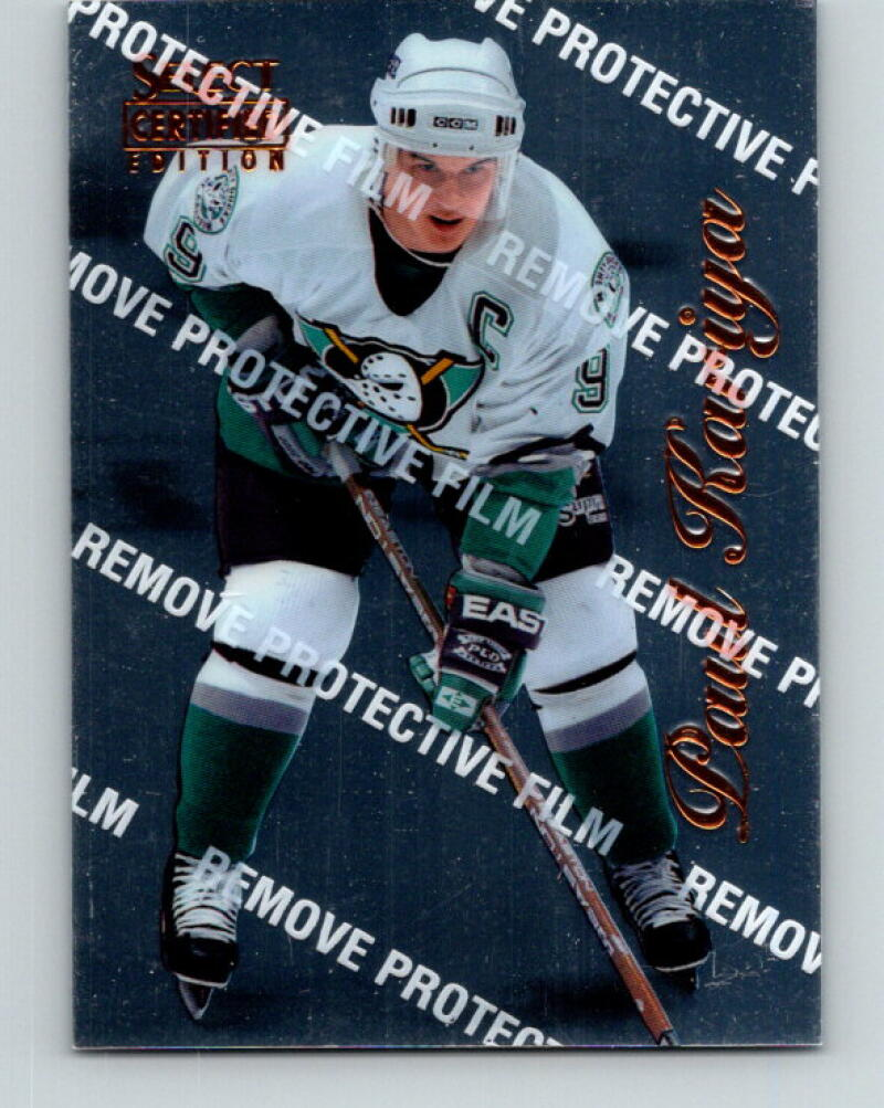 1996-97 Select Certified #14 Paul Kariya  Anaheim Ducks V35165