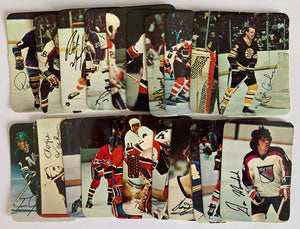 1977-78 O-Pee-Chee Glossy Hockey Complete Set 1-22 NM *Z003