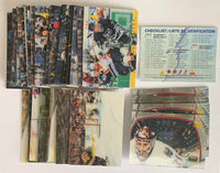 1996-97 McDonalds 3D Pinnacle Complete Master Set 1-40 Mint *Z009