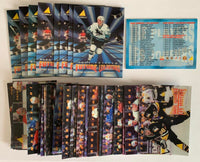 1995-96 McDonalds 3D Pinnacle Complete Master Set 1-40 Mint *Z010
