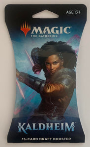 Magic The Gathering MTG Booster Pack - Kaldheim DRAFT Booster