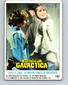 1978 Topps Battlestar Galactica #131 Lovely Jane Takes a Breather   V35455