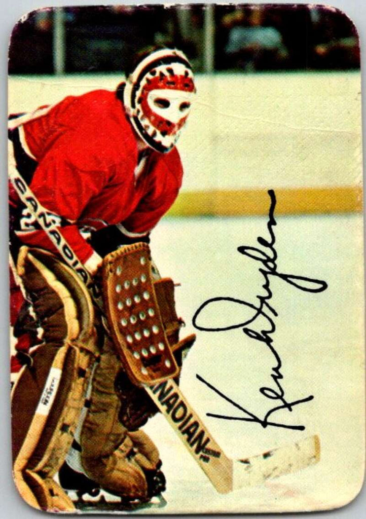 1977-78 O-Pee-Chee Glossy #5 Ken Dryden, Montreal Canadiens  V35521