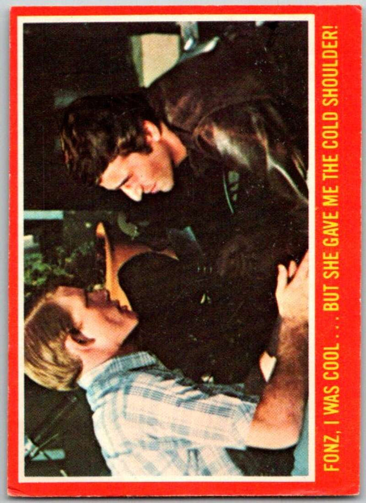 1977 O-Pee-Chee Happy Days #38 Fonz, I was cool …  V35781