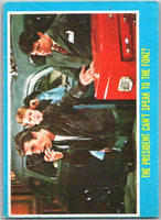 1976 Topps Happy Days #4 The President Can't Speak to the Fonz   V35811