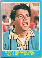 1976 Topps Happy Days #37 I'll Have 6 Burgers and 3 Shakes  V35926
