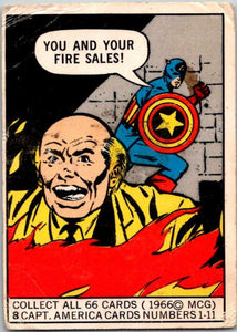 1966 Marvel Super Heroes #8 You and your Sales!  V35949