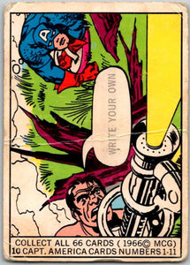1966 Marvel Super Heroes #10 Write Your Own  V35969