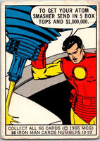 1966 Marvel Super Heroes #16 Atom Smasher in Box  V35973