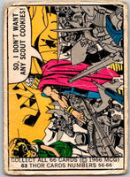 1966 Marvel Super Heroes #63 Don't want Scout Cookies!  V35984